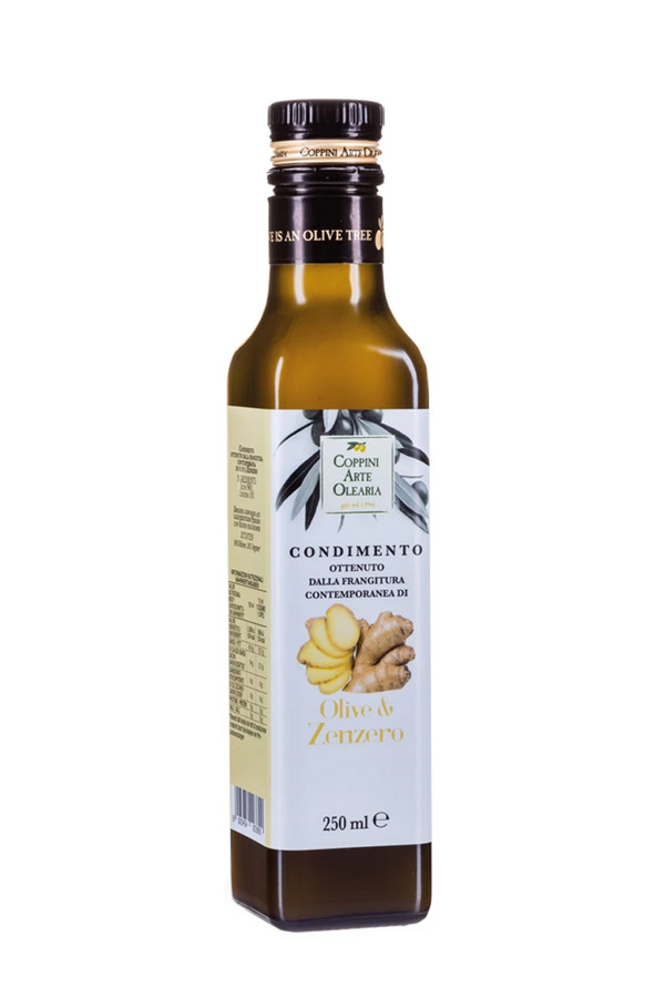 GINGER OLIVE OIL 250ml_e2203