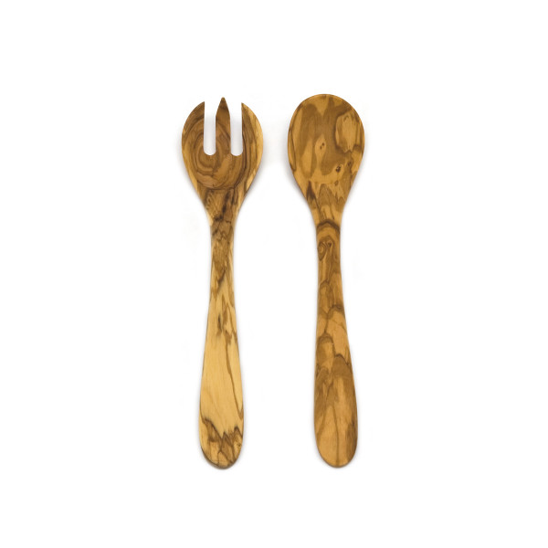 SALAD SERVERS 2 PCS OLIVE WOOD 30 CM_320b5
