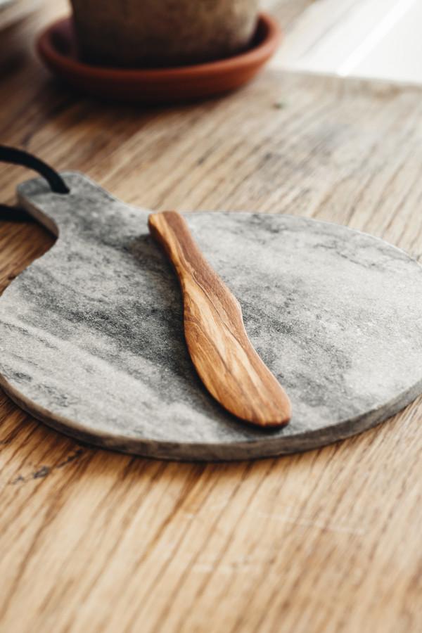 BUTTER KNIFE OLIVE WOOD 17 CM_8dfbd