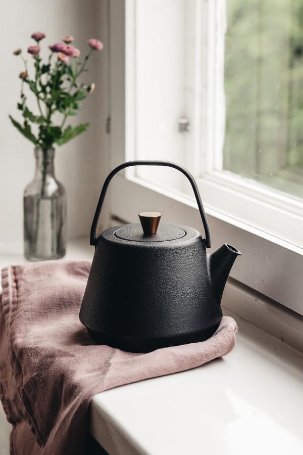 Cast Iron Tea Kettle Saga, 1,2 L