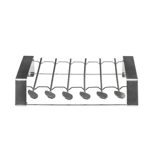 BBQ SKEWERS ROTISSERIE 6 PCS (31.5 CM) + RACK_a2abc
