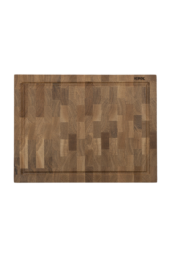 CUTTING BOARD WITH GROOVE 40x30x4cm, OAK WOOD_a61d2