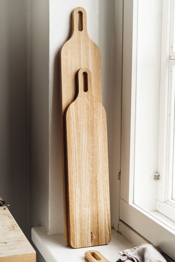 CUTTING BOARD 39x12x1,5cm, OAK WOOD_5052e