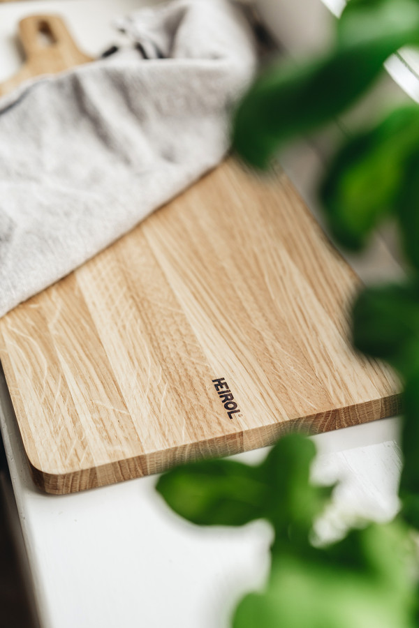 CUTTING BOARD 45x25x1,5cm, OAK WOOD_f525e