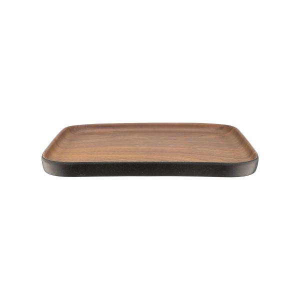 TARJOTIN/LAUTANEN 21cm, bambukuitu