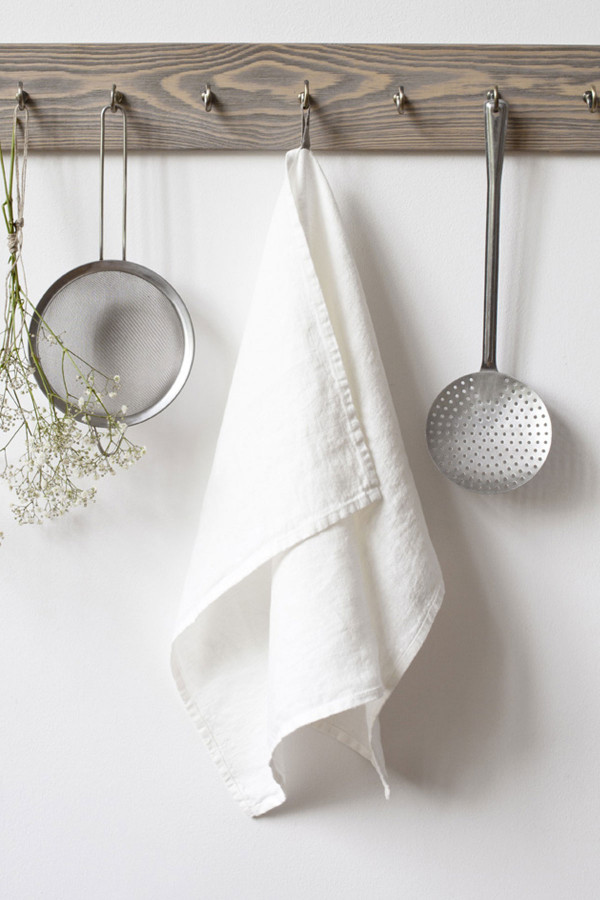 KITCHEN TOWEL, White_15111
