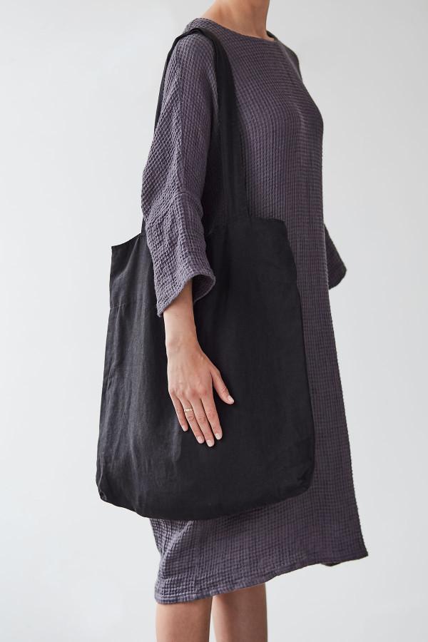 BIG BAG linen, black_aaadd
