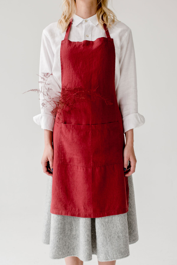 DAILY APRON red pear_0847c