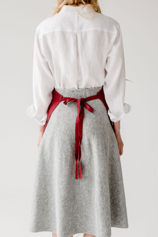 DAILY APRON red pear_6332d