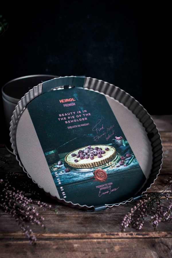 PIIRASVUOKA IRTOPOHJALLA 28 cm, (shampanja)