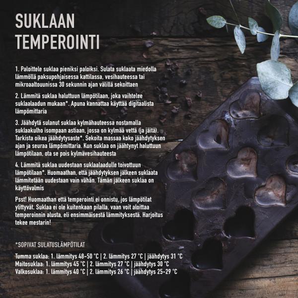 SYDÄN TIKKARIVUOKA JA TIKUT, silikonia_22b3a