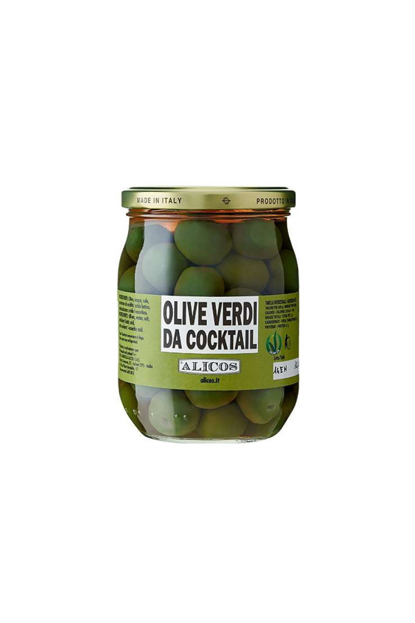 OLIVE VERDI DA COCKTAIL 340g