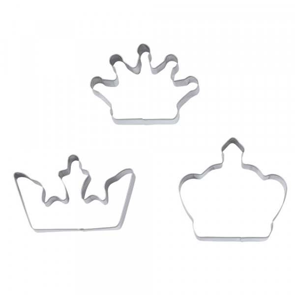 Kruunut PIKKULEIPÄMUOTTISETTI rst (3 kpl / setti)
