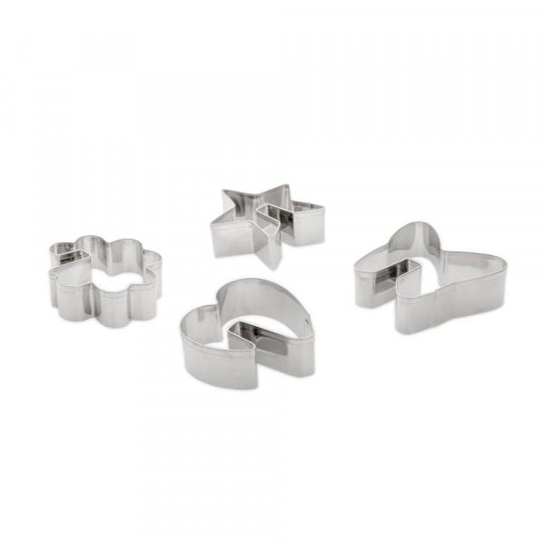 3D COOKIE CUTTER SET 4 PCS_a2827