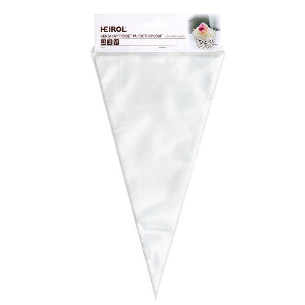 KERTAKÄYTTÖISET PURSOTINPUSSIT 35 cm (12 kpl)