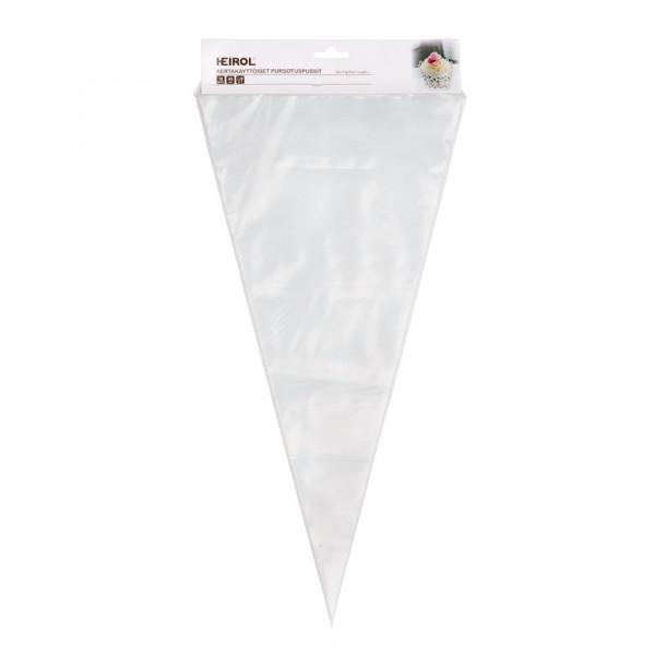 KERTAKÄYTTÖISET PURSOTINPUSSIT 45 cm (12 kpl)