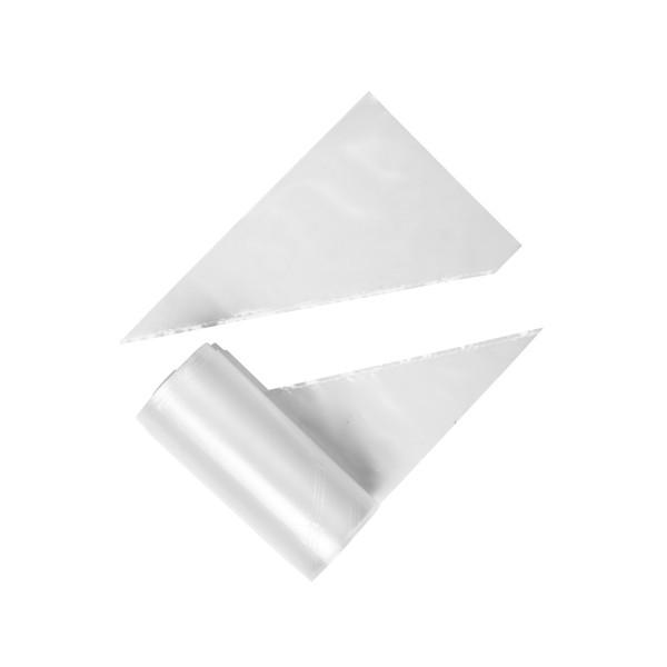 KERTAKÄYTTÖISET PURSOTINPUSSIT 45 cm (100 kpl)