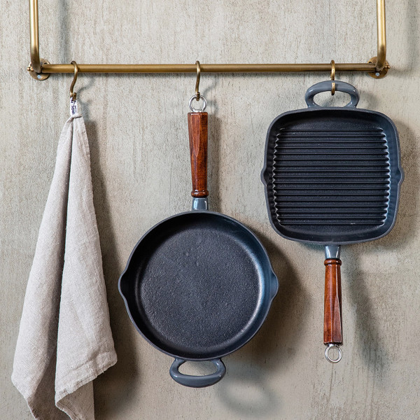 GRILL PAN 26CM, cast iron_c37e9