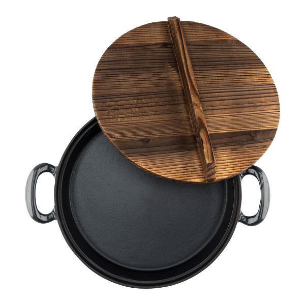 SAUTÉ PAN 30CM, cast iron_db595