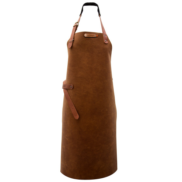 LONG APRON, leather_3d751