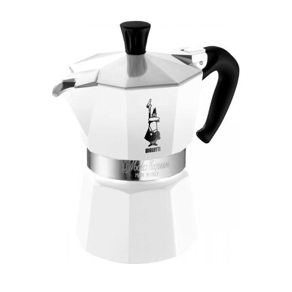 MOKA EXPRESS 6 CUP WHITE_b5945