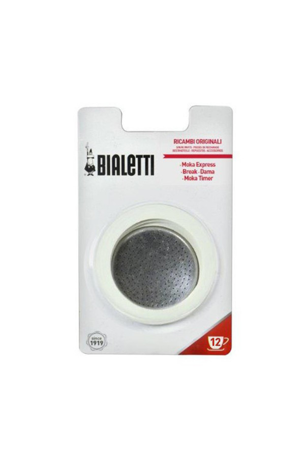 GASGETS AND FILTER 12 CUPS BIALETTI MOKA EXPRESS_4e1d4