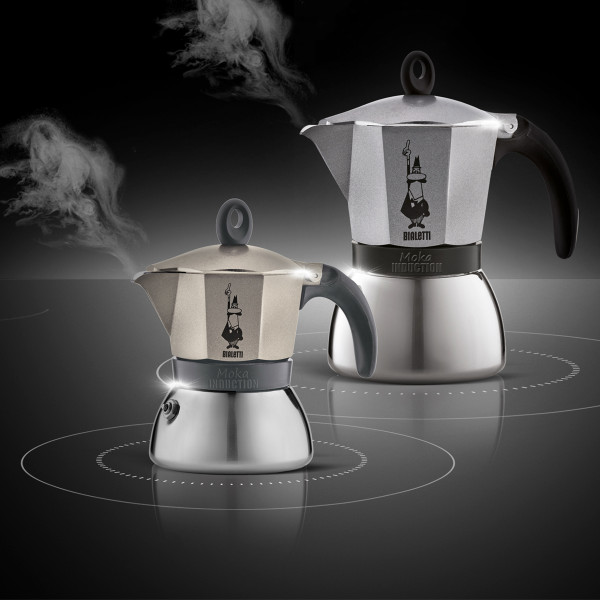 ESPRESSOKEITIN 3 k. Moka Induction Antra