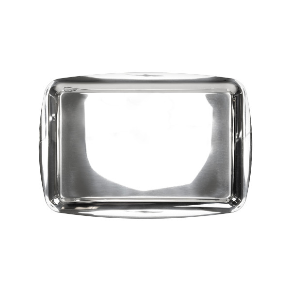 RECTANGULAR TRAY 45X31CM, STAINLESS STEEL_5df87