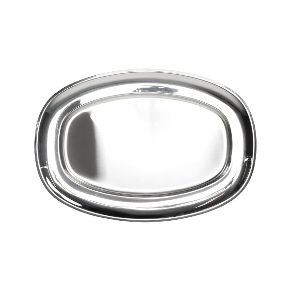 SERVING TRAY 45x32cm, STAINLESS STEEL_fccc1