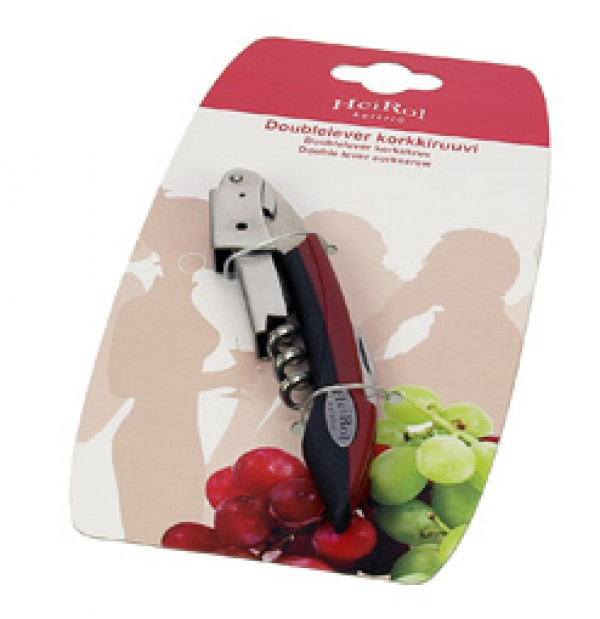 DOUBLE LEVER CORKSCREW RED_186f8