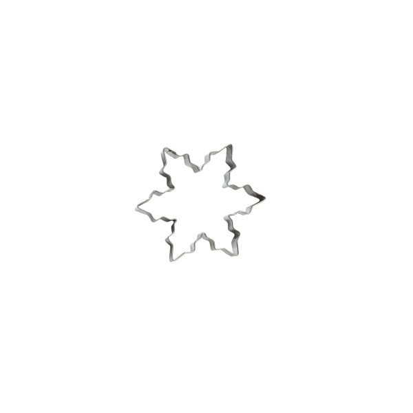 COOKIE-CUTTER ICE CRYSTAL 6 CM_7271b