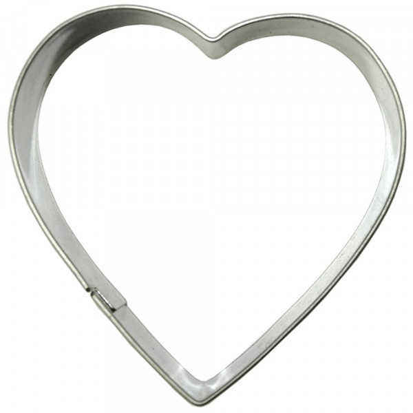 COOKIE-CUTTER HEART 8 CM_97628