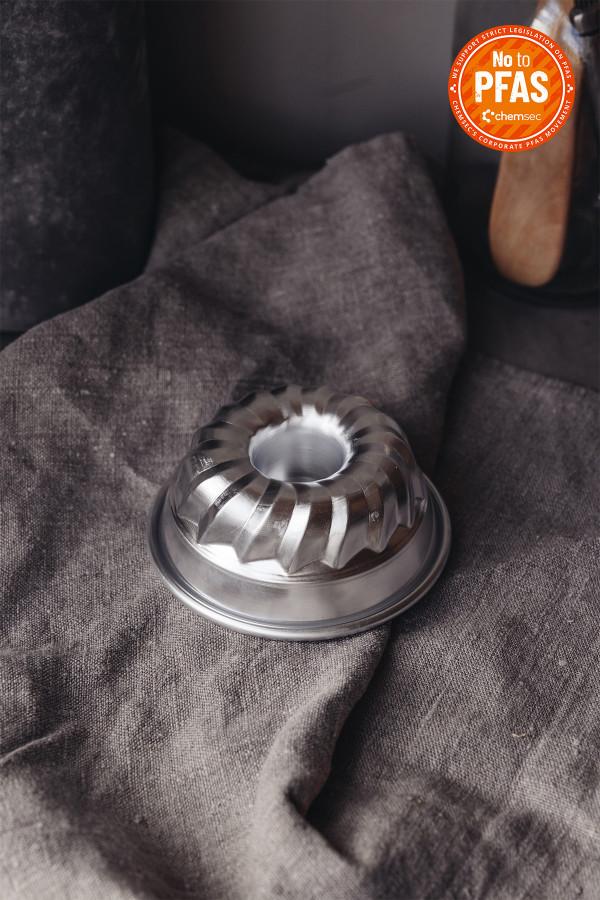 FLUTED CAKE PAN 10 cm aluminium_6be1a