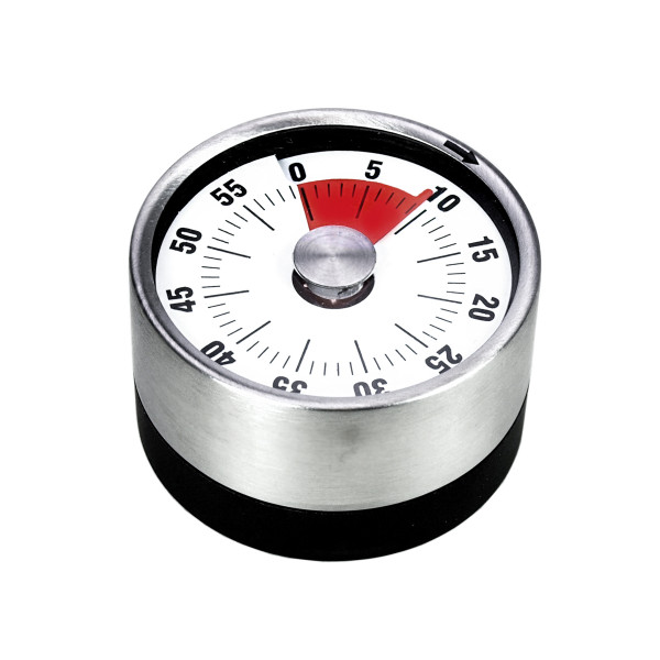TIMER WITH MAGNET 6.5 X 3.8 CM BLACK IN DISPLAY_8a872