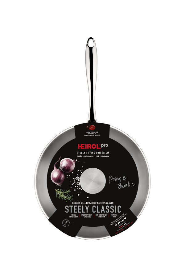 PAISTINPANNU 28 cm Steely Classic Pro_a2999