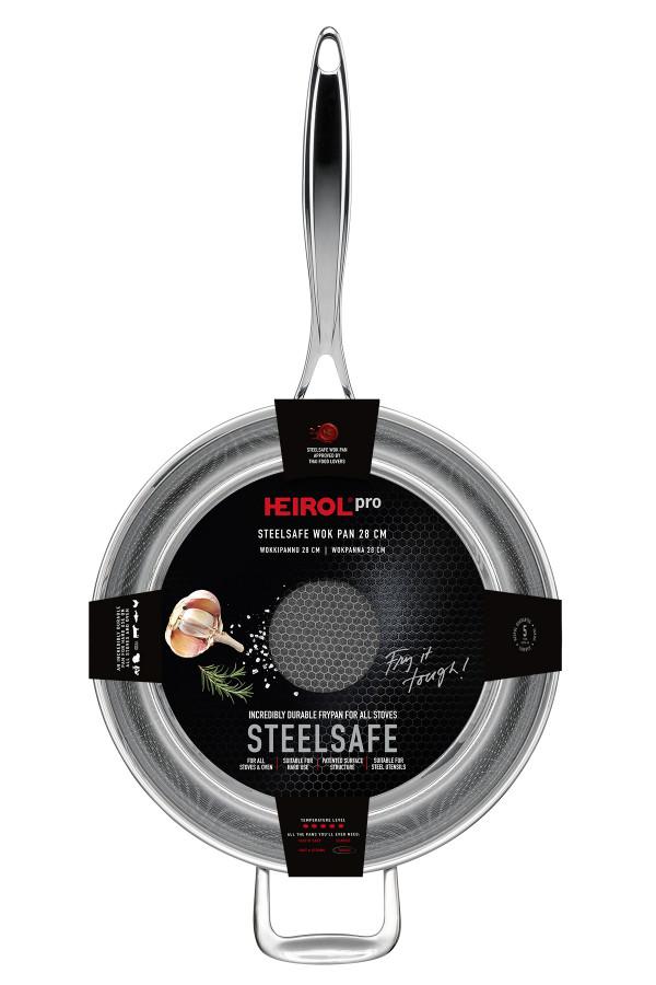 WOK/FRYING PAN 28 CM STEELSAFE Pro_938d5