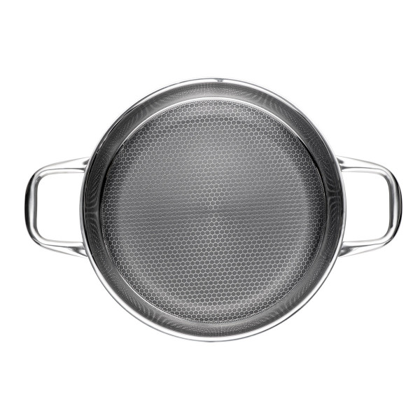 SERVING-/ FRYING PAN 28 CM STEELSAFE Pro_dc212