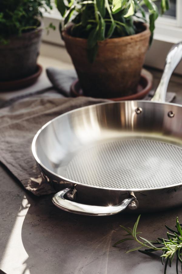 FRYING PAN 28 cm Allsafe 5-PLY Pro_5859c