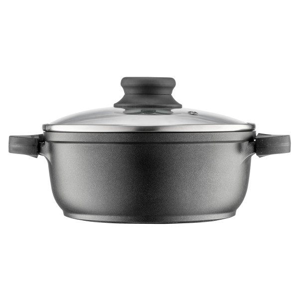POT WITH LID 20 CM 2.2 L GRIPPY CAST ALUMINIUM_a31a2