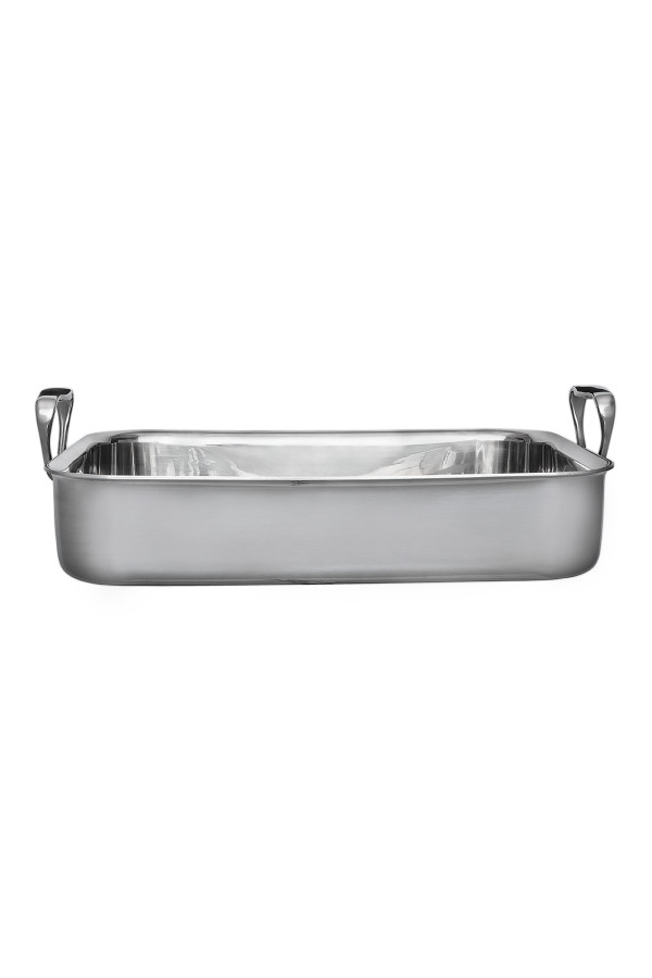 ROASTER 3-PLY 30x21x6cm STAINLESS STEEL PRO_64d56