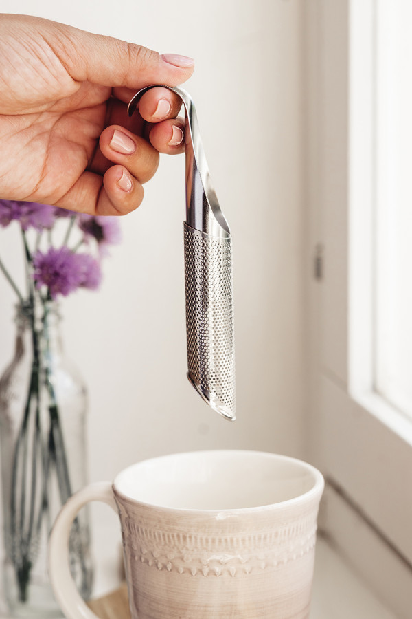 TEA AND HERB INFUSER s/s_